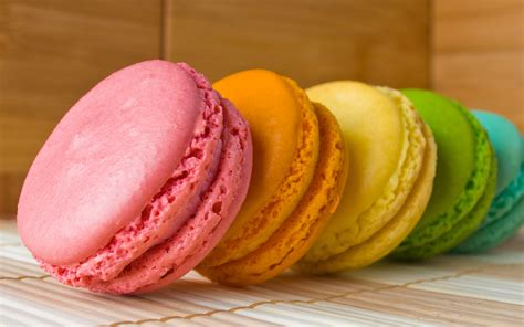 colorful macaroons delicious colorful macaroons hd wallpapers top