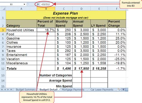 how to use microsoft excel to manage your life mathematical computations