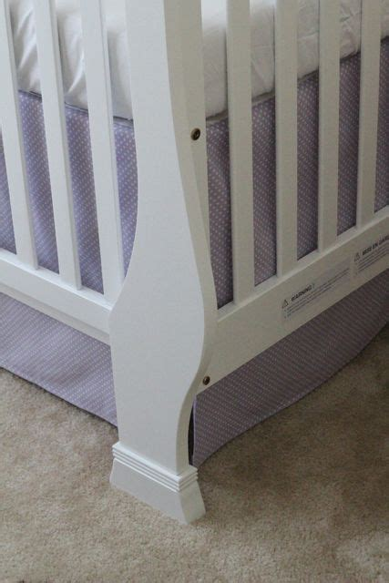 1000 Images About Grandma Stuff On Pinterest Crib How To Make A Crib Bed Skirt