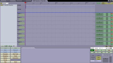 audio desk recording software free daw tracktion 4 music making software bpb