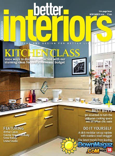 House Design Magazines India Better Interiors India November 2014 187 Pdf