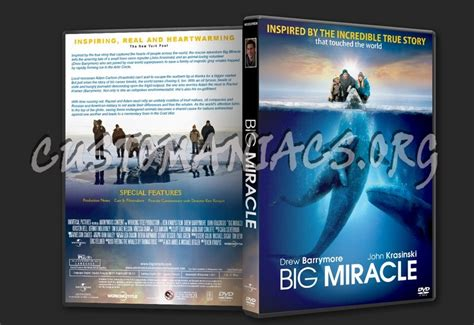 Big Miracle Free Megavideo Big Miracle Dvd Cover Dvd Covers Labels By Customaniacs Id 163088 Free Highres