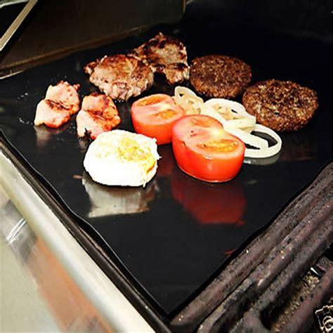 Kertas Lapisan Panggangan Bbq Grill Mat Reusable eflon barbecue grill mat for microwave oven outdoor bbq accessories