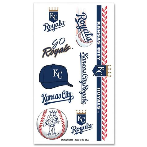 kc royals tattoos kansas city royals tattoos mo sports authentics apparel