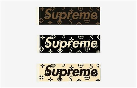 Sticker Supreme X Louisvuitton 2 did the images of supreme and louis vuitton s rumored collaboration just leak complex