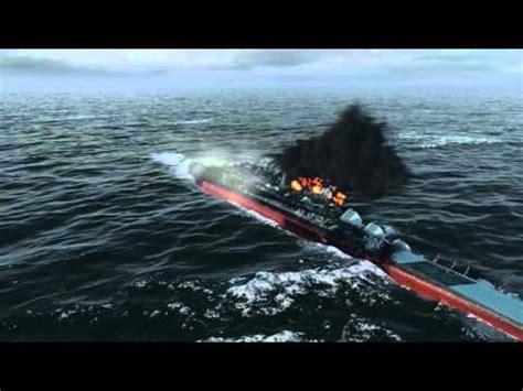 sinking ship animation world of warships 0 5 5 sinking animations youtube