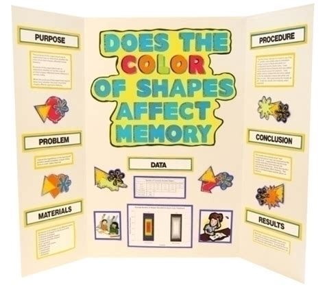how does color affect memory make a science fair project about colors and memories