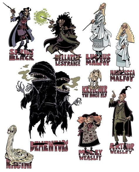 15 harry potter fan redesigns harry potter redesigns by schweizercomics on those dementors are awesome harry potter