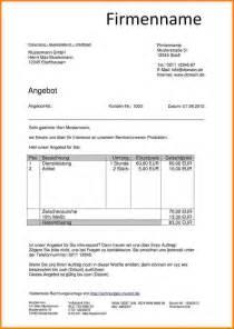 Angebot Muster E Mail Related To Kostenvoranschlag Muster Angebot Vorlage 1325 Das Schriftliche Angebot