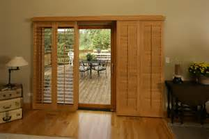 Plantation Shutters Sliding Patio Door How To Decorate Your Sliding Glass Door Eight Ideas Home Maintenance Real Estate