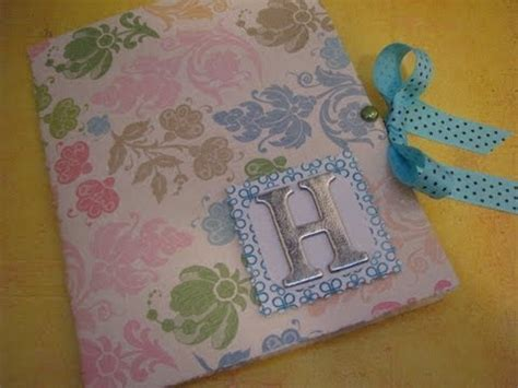 How To Make Handmade Sheet Folder - 12x12 paper stationary folder