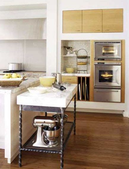 Marble Kitchen Island Table Marble Topped Pastry Table Addition To Island In Better Homes Gardens Test Kitchen K I T C H