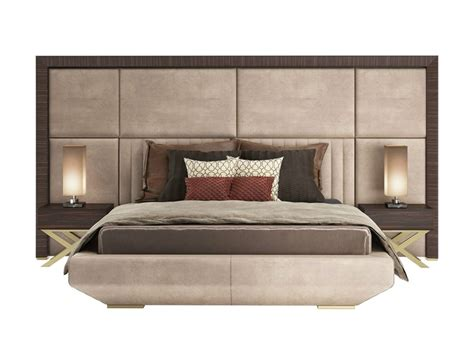 headboard double bed double bed with high headboard kimera capital collection