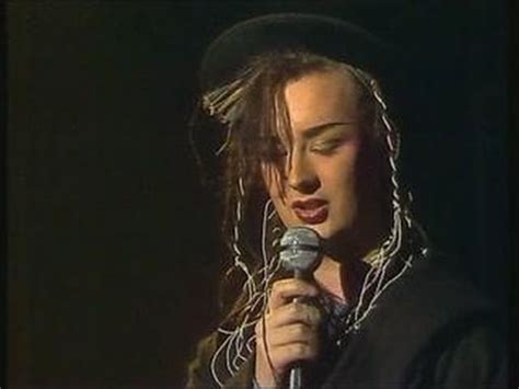Boy George Me by Culture Club Do You Really Want To Hurt Me 1983 Live