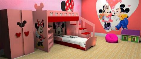 Mickey Mouse Bunk Beds I Wanted To The Prize Of Minnie Mouse Bunk Bed Minnie Mouse Bunk Bed Set Pinterest