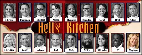 Hells Kitchen Season 14 by Reality Tvclubhouse Discussions Hell S Kitchen Season 14
