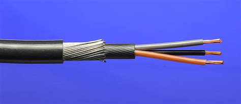 grey black brown wiring 2 5mm 178 6943x 3 swa steel armoured cable