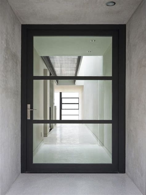 modern glass doors best 25 glass front door ideas on pinterest front doors