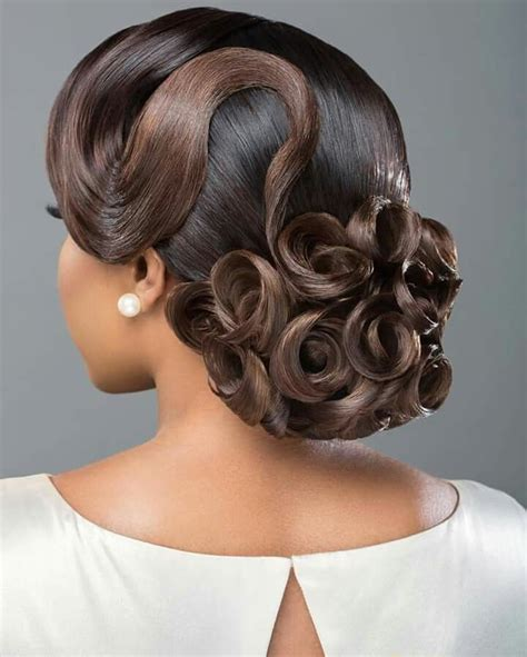 25 best ideas about black hairstyles updo on