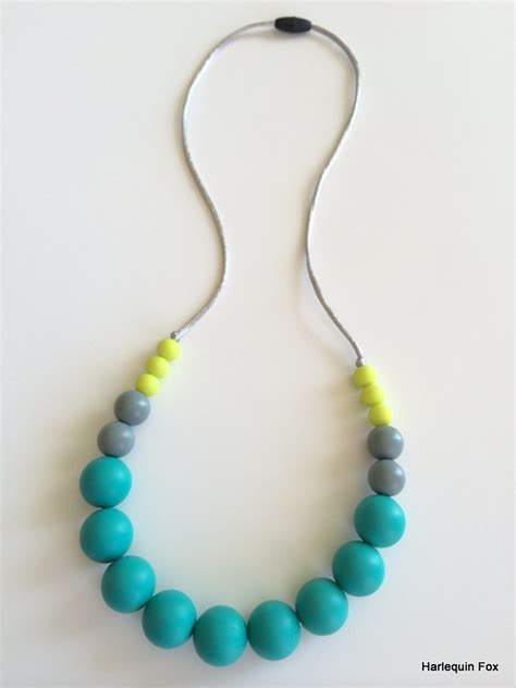 gumball bead necklace washable gumball silicone bead necklace best seller