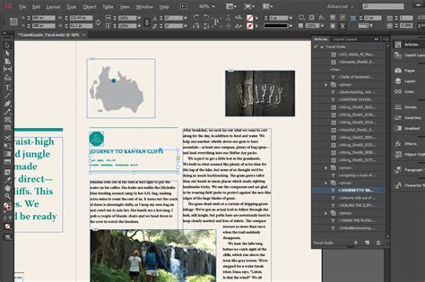 magazine layout indesign cc adobe indesign cc creating a basic document annenberg