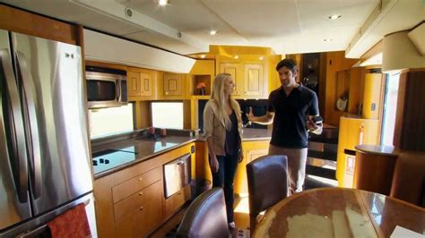 living on one dollar trailer hgtvs celebrity motor homes will smith 2 story trailer