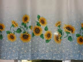 Sunflower Curtains Kitchen Sunflower Kitchen Decor Ideas For Modern Homes