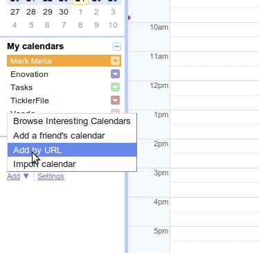Calendar Add By Url One Way Syncronisation Of Your Moodle Calendar With