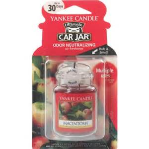 Car Air Fresheners Yankee Candle Yankee Candle Ultimate Car Jar Macintosh Air Freshener