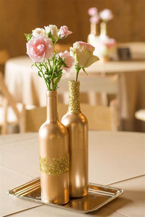 wine bottles for wedding centerpieces best 25 wine bottle flowers ideas on wine