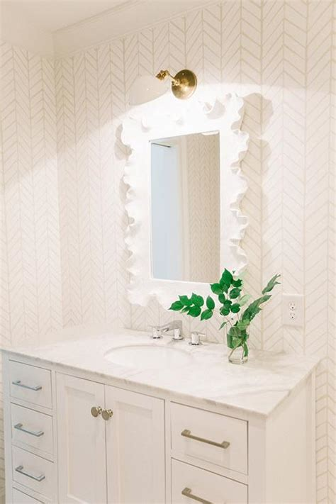 all white bathroom design transitional bathroom