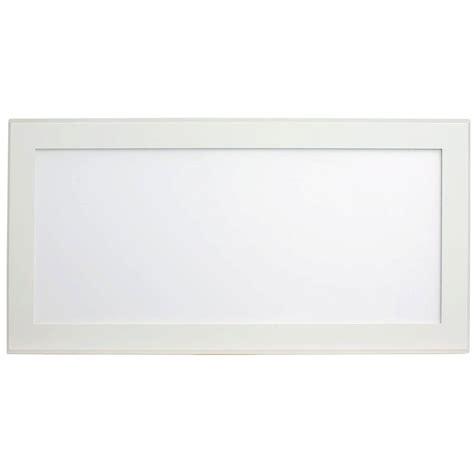 pixi led flat light pixi beveled 1 ft x 2 ft white edge lit led flat light