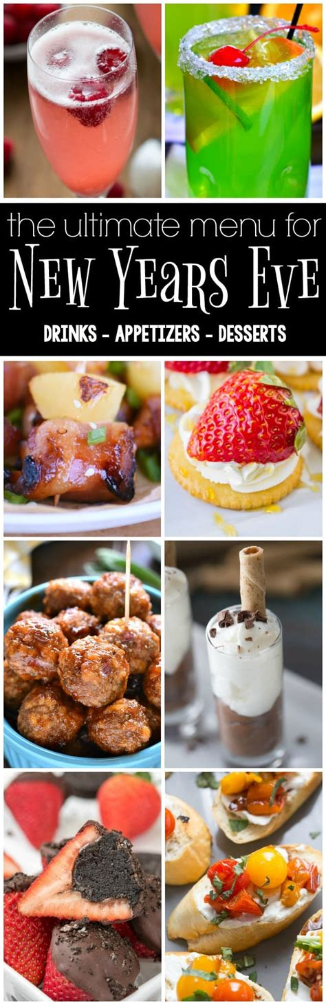 new year menu dessert the ultimate new year s menu 18 recipes for drinks