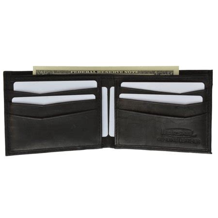 Genuine Leather Simple Wallet mens simple classic genuine leather bifold wallet 58 cf c