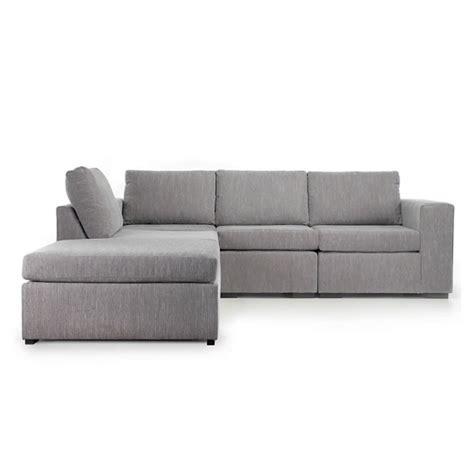 light grey corner sofa cross reversible corner sofa in light grey fabric and