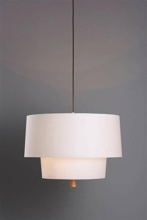 Linen Pendant Light Nomen Trimless Linen Pendant Light For Sale At 1stdibs