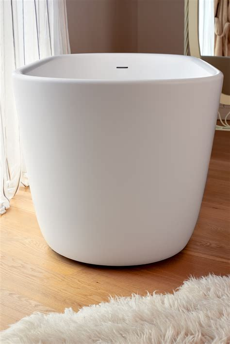 solid surface bathtub aquatica lullaby wht purescape 602m freestanding solid