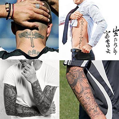 tattoo paper dubai kotbs 4 sheets mix similar beckham neck arm body tattoo