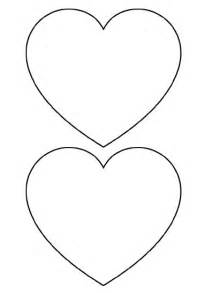 25 best ideas about heart template on pinterest
