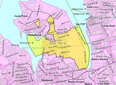 map of new york villages port washington new york