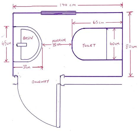 dimensions for a small bathroom minimum size for a downstairs toilet with bathroom