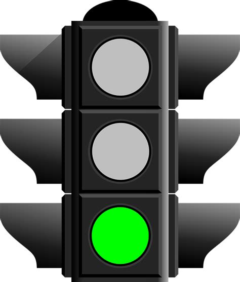 Lights To Go by Free Vector Graphic Traffic Light Green Go Free Image