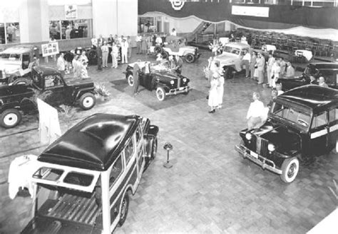 willys division showroom history willys wagon antique cars vintage cars