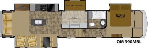 Heartland Rv Fifth Wheel Floor Plans 2016 Heartland Oakmont 390mbl