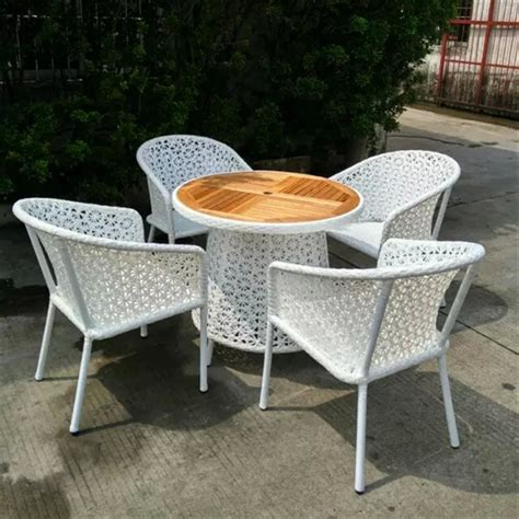 patio wicker set set of 5pcs outsunny table and chair rattan wicker patio
