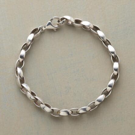 Charming Handmade Silver Bracelet unique bracelets robert redford s sundance catalog