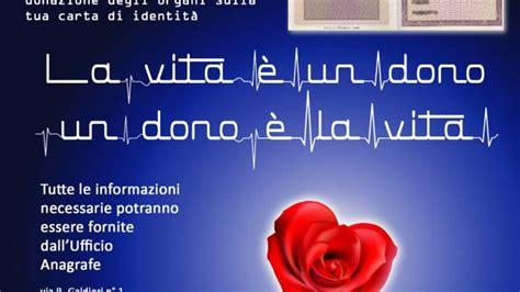 comune di san giorgio cremano ufficio anagrafe donazione organi ecco i manifesti parte la cagna in