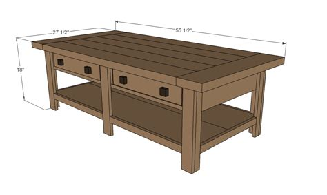 Coffee Table Plans Coffee Table Plans Dimensions 187 Woodworktips