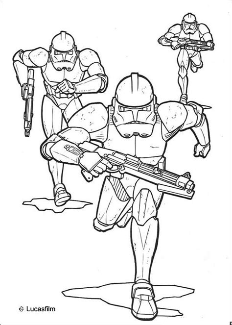 coloring pages of clone troopers clone trooper coloring page az coloring pages