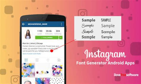 instagram font generator android apps